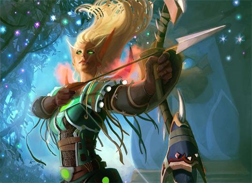 Archer world of warcraft illustration artworks