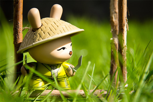 Asian dunny vinyl toys design