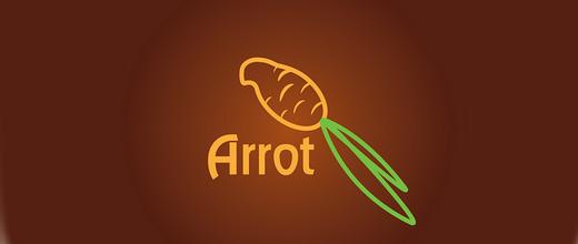 Parrot bird carrot logo design collection
