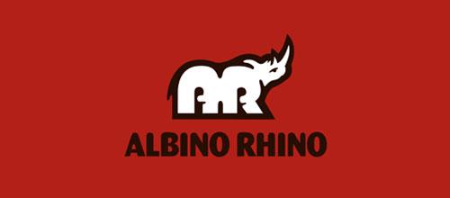 Albino Rhino logo