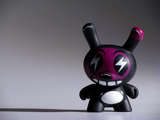 Black thunder dunny vinyl toys design