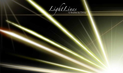 Light Lines brushes