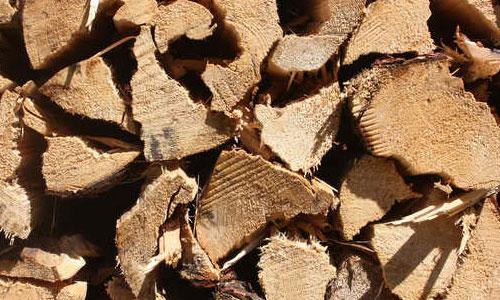Log pile texture