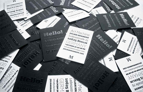 Julian Hrankov Business Card