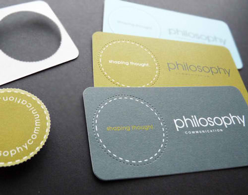 Business Card for: Philosophy Communications