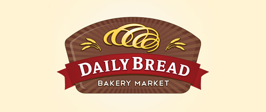 Cute bread logo designs collection
