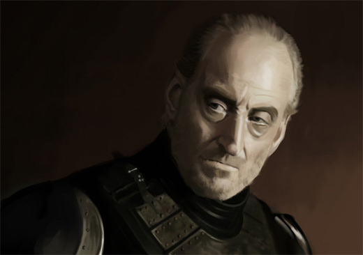Tywin game of thrones illustration artworks