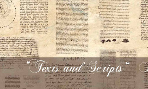 Texts and Scripts Bruhes