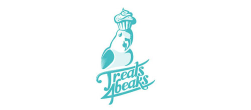 Treats 4 Beaks logo
