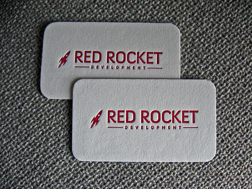 Red Rocket Business Card