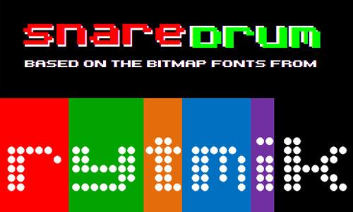 SnareDrum One NBP font