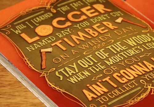 Logger Lettering