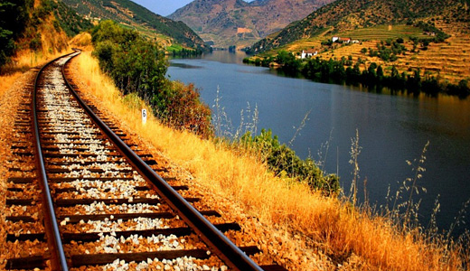 Lovely river railroad free download wallpapers