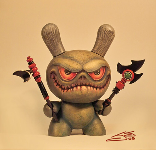 Devil killer dunny vinyl toys design