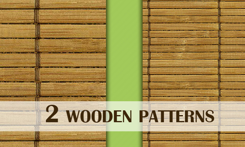 2 Wooden Patterns