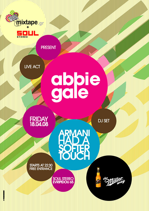 abbie gale live poster - Poster Designs Ideas