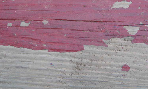 Peeling Painted Wood Texture