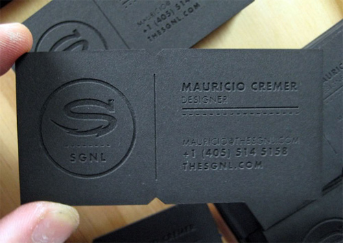 SGNL business card