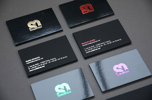 SoleilNoir Business Card