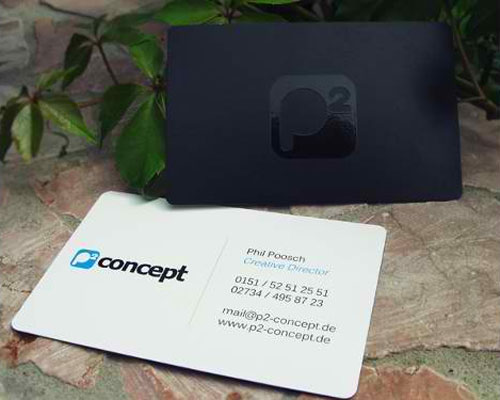 P² Concept Business Card