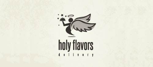 holy flavor delivery logo