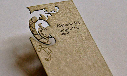 Alessandro Gugliotta Business Card