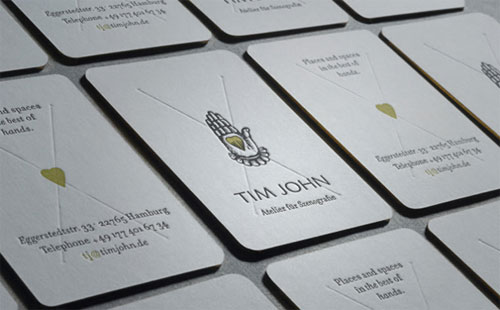 Tim John Business Card
