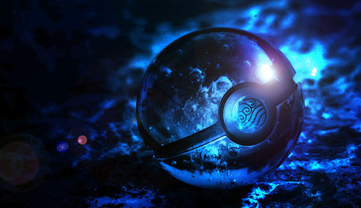 Blue water pokeball designs wallpapers free download