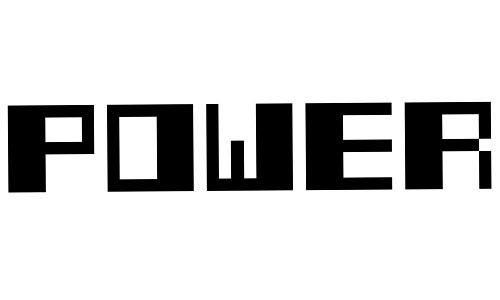 Power Pixel-7 font