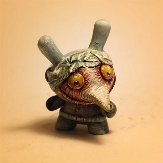 Zombie dunny vinyl toys design