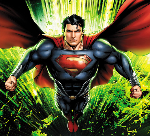 Kryptonite green superman man of steel fan art illustration artworks