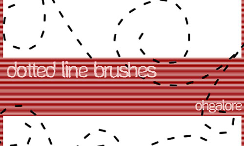 Dotted Line Brushes