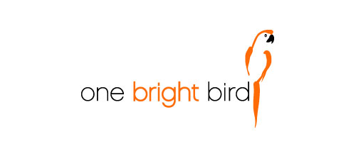 one bright bird logo