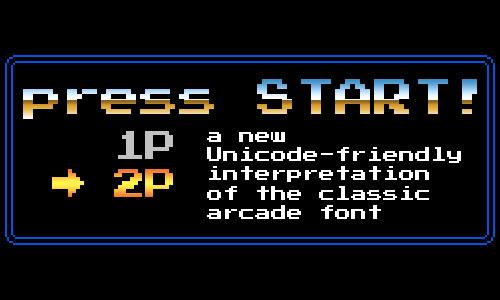 Press Start 2P font
