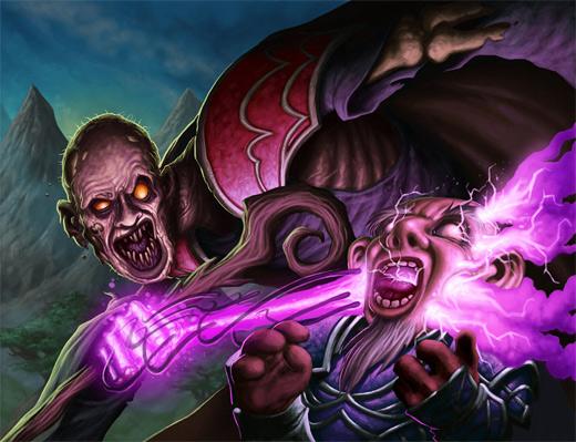 Undead world of warcraft illustration artworks