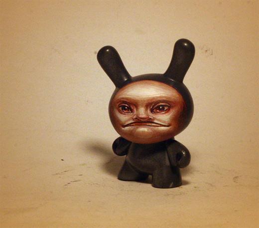 Face dunny vinyl toys design