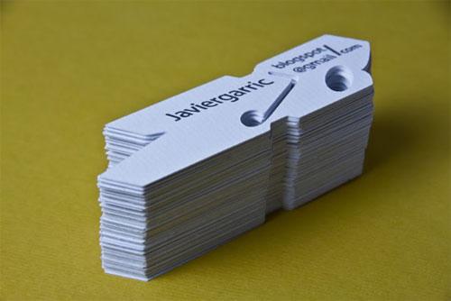 Javier Garric business card