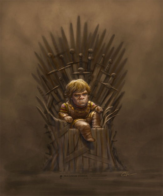 Tyrion doll game of thrones illustration artworks