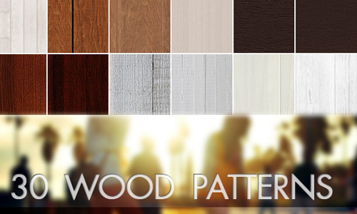 30 Wood Patterns