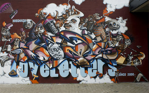 Cool graffiti artworks collection