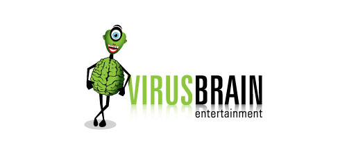 virusbrain entertainment logo
