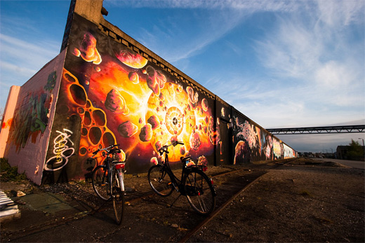 Meteors graffiti artworks collection