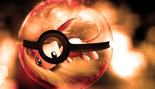 Mew orange pokeball designs wallpapers free download