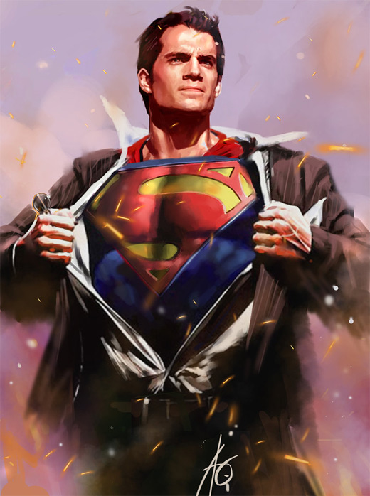 Outfit costume superman man of steel fan art illustration artworks