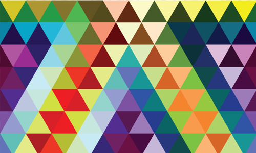 80 Triangle Patterns for Subtle Geometric Touches Naldz Graphics