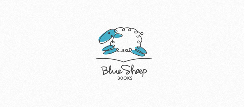 Blue Sheep Books logo