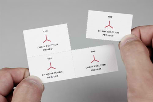 Business Card for: The Chain Reaction Project