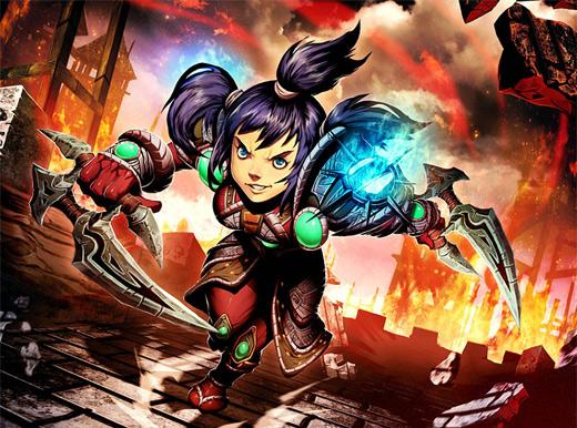 Abbie dagger assassin world of warcraft illustration artworks