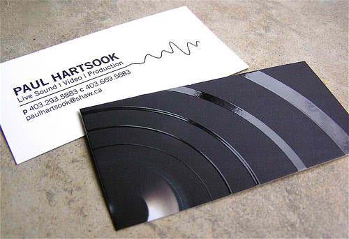 Paul Hartsook Business Card