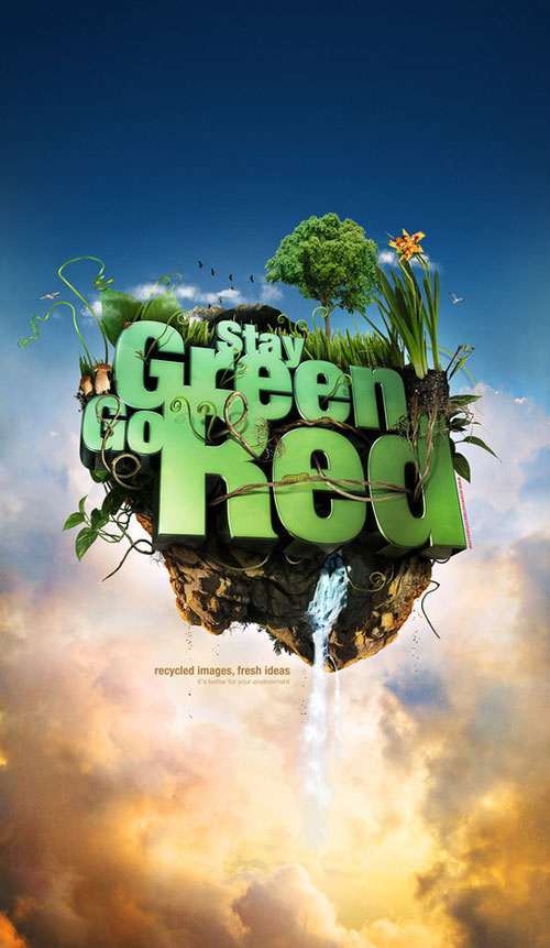 Stay Green Go Red